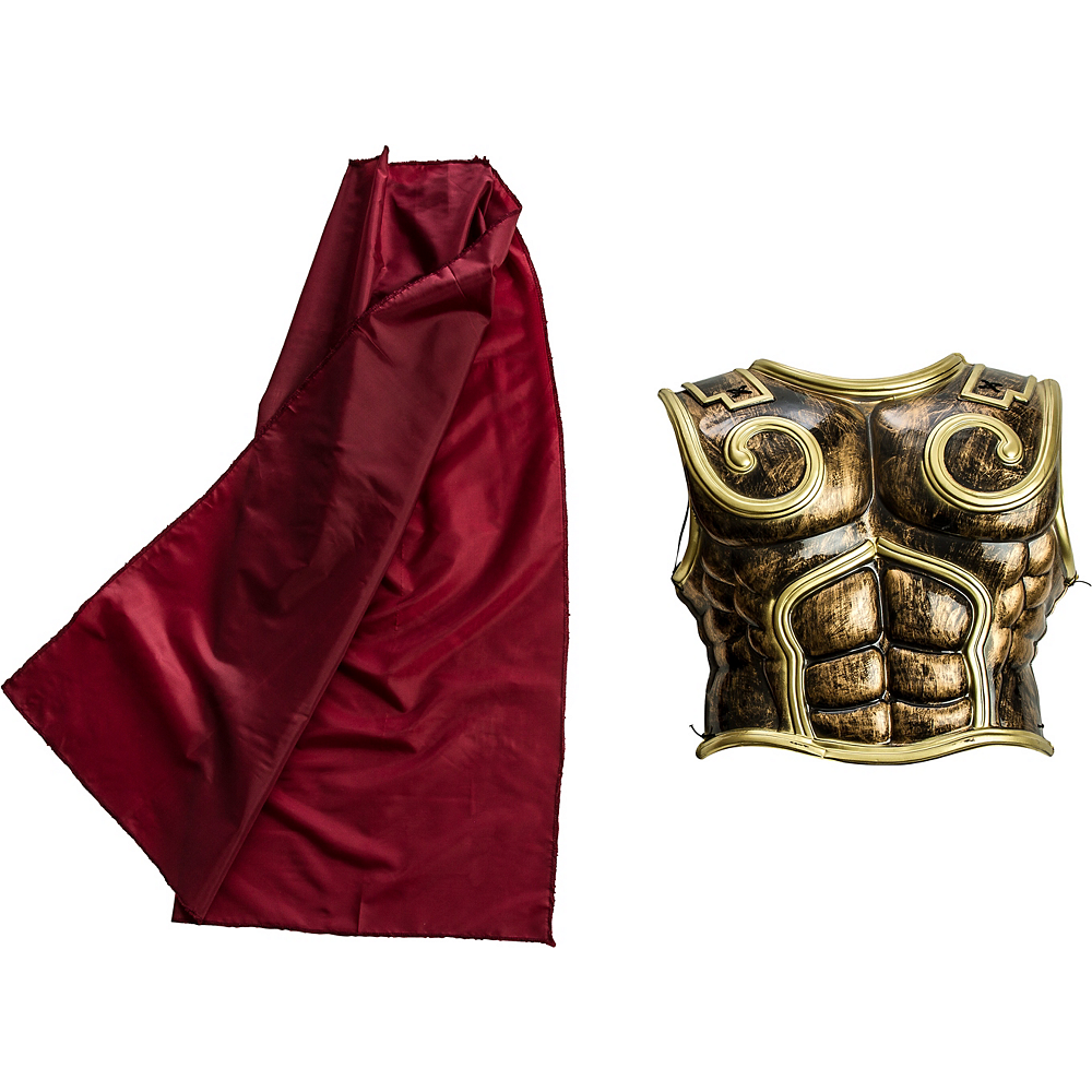 Greek Chest Plate with Cape Image #2