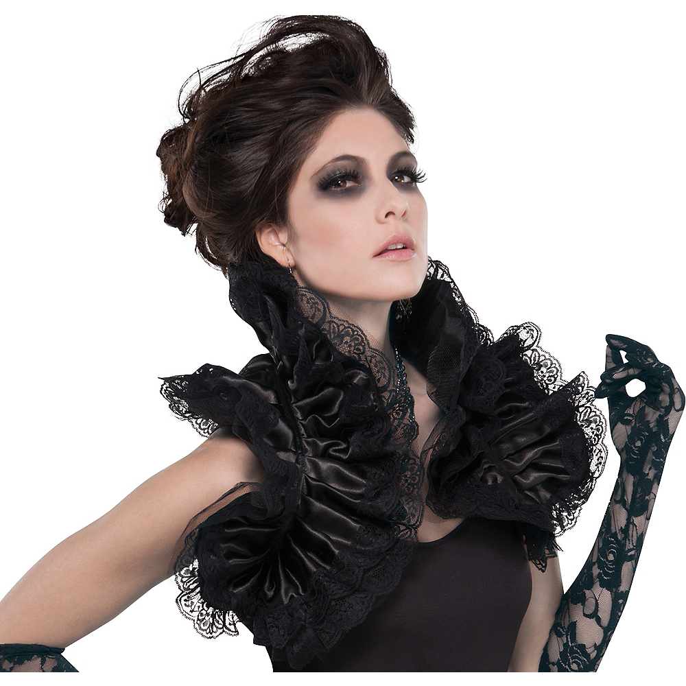 Gothic Ruffled Shrug Image #1