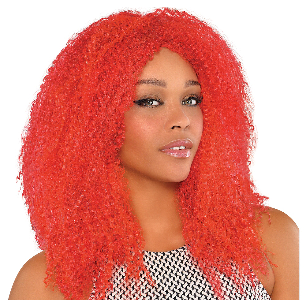 Nav Item for Fly Girl Red Wig Image #1