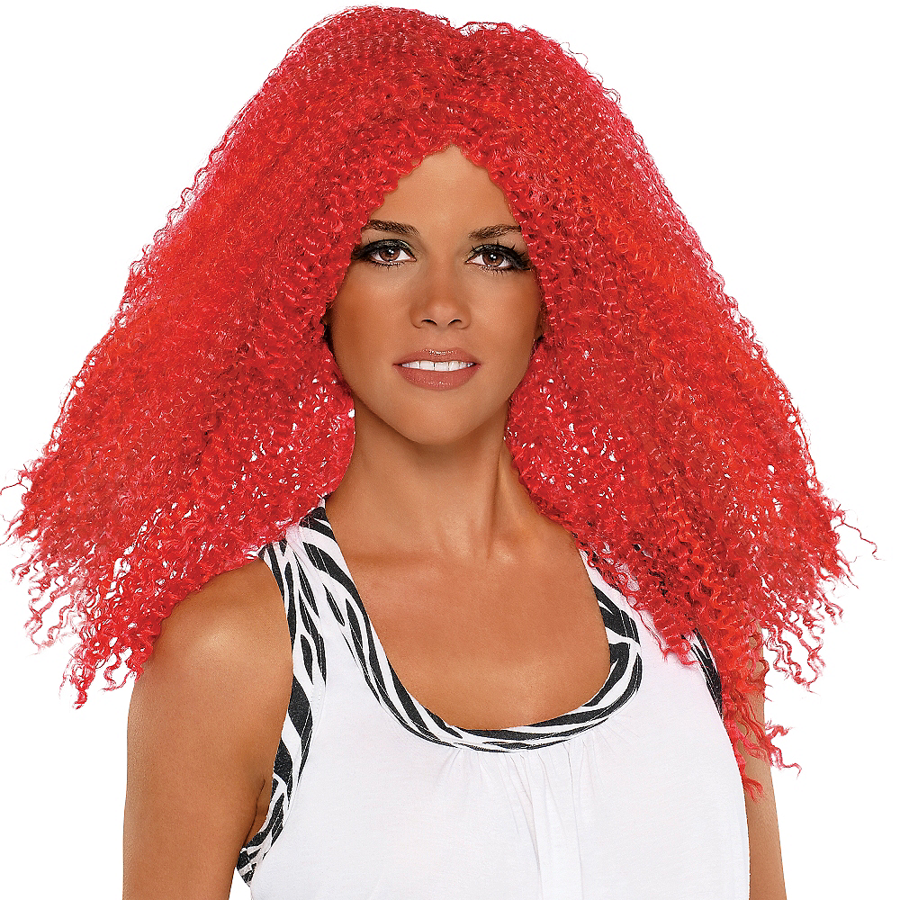 ... Fly Girl Red Wig Image  2 df87af54b9