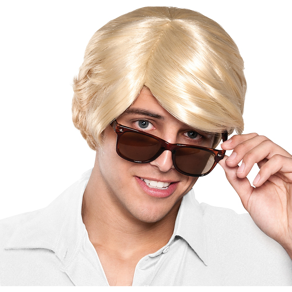 Nav Item for Chick Magnet Blond Wig Image #1