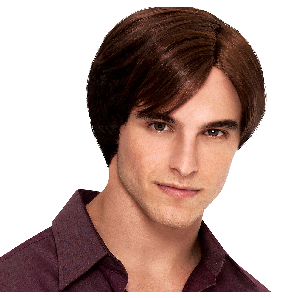 Nav Item for Charming Prince Brown Wig Image #1