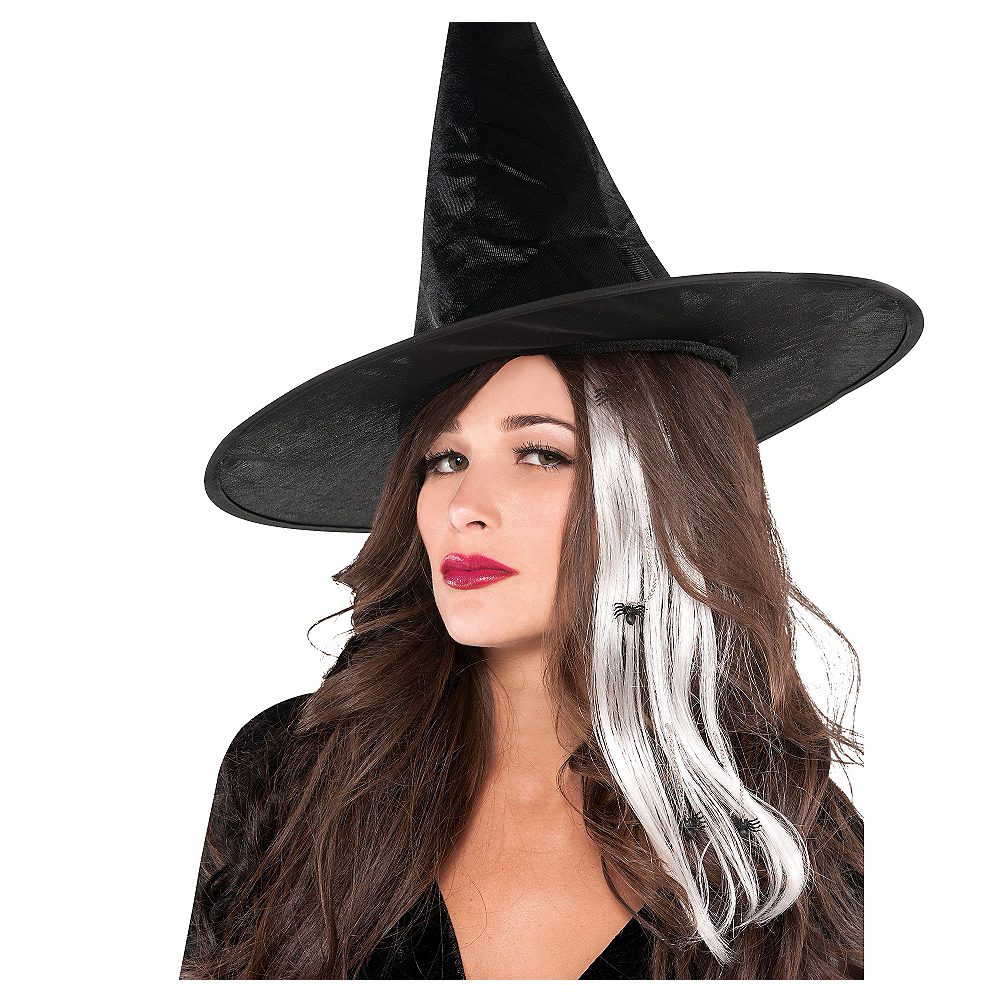 Spider Witch Hair Extensions 2ct Image #1