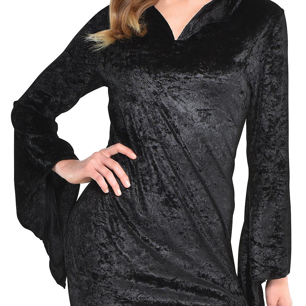 Adult Black Basic Witch Dress Image #2