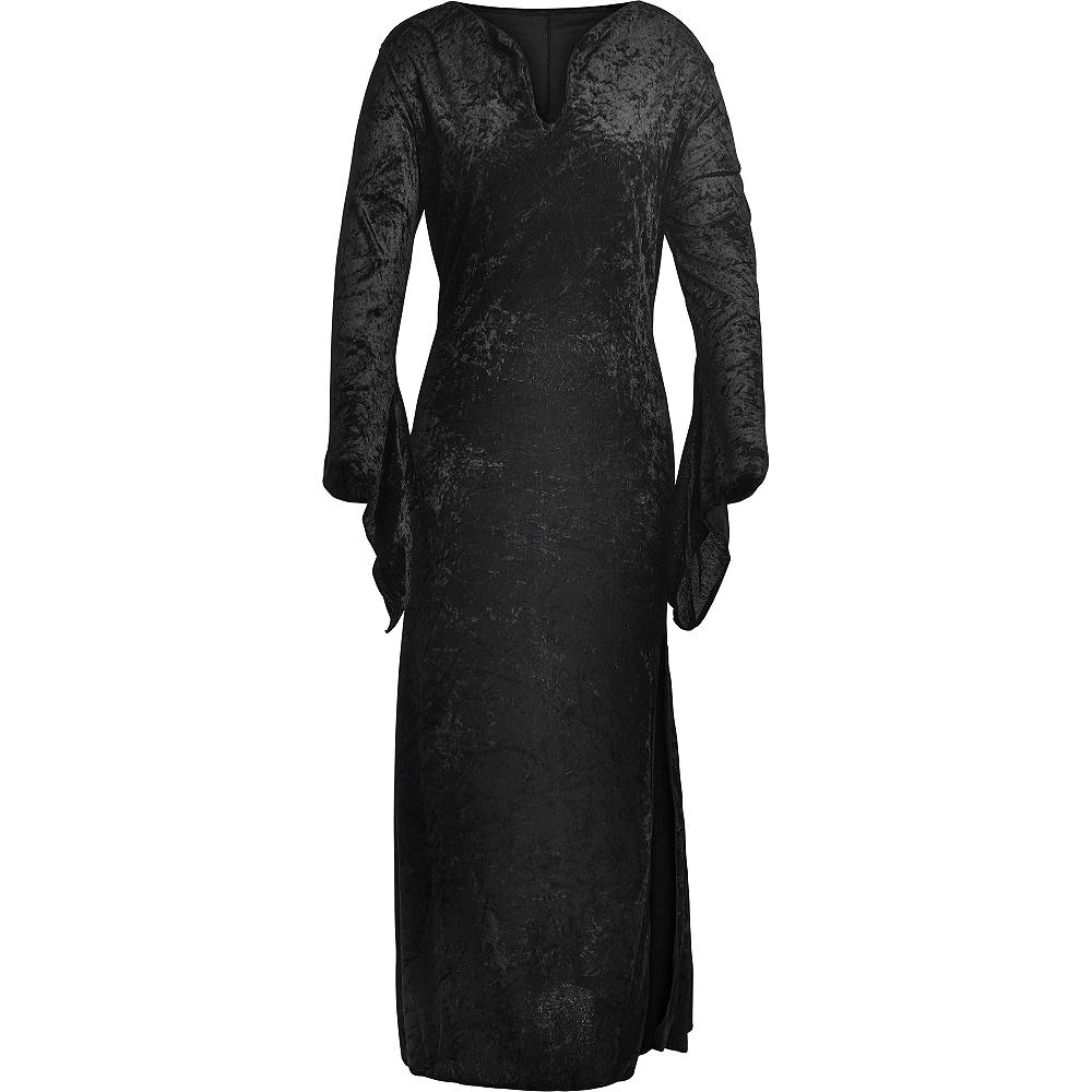 Adult Black Basic Witch Dress Image #4