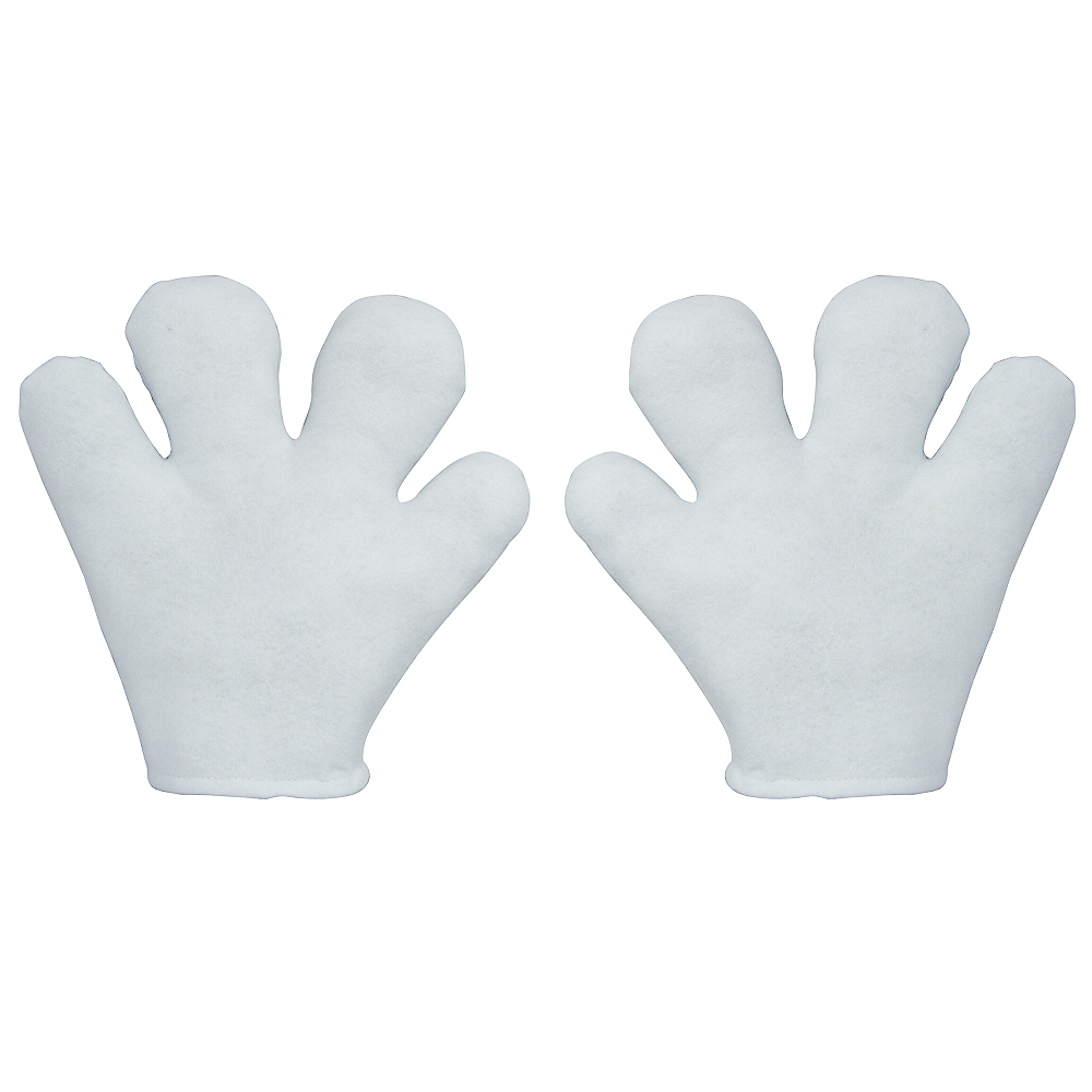 Child Felt Cartoon Gloves Image #1