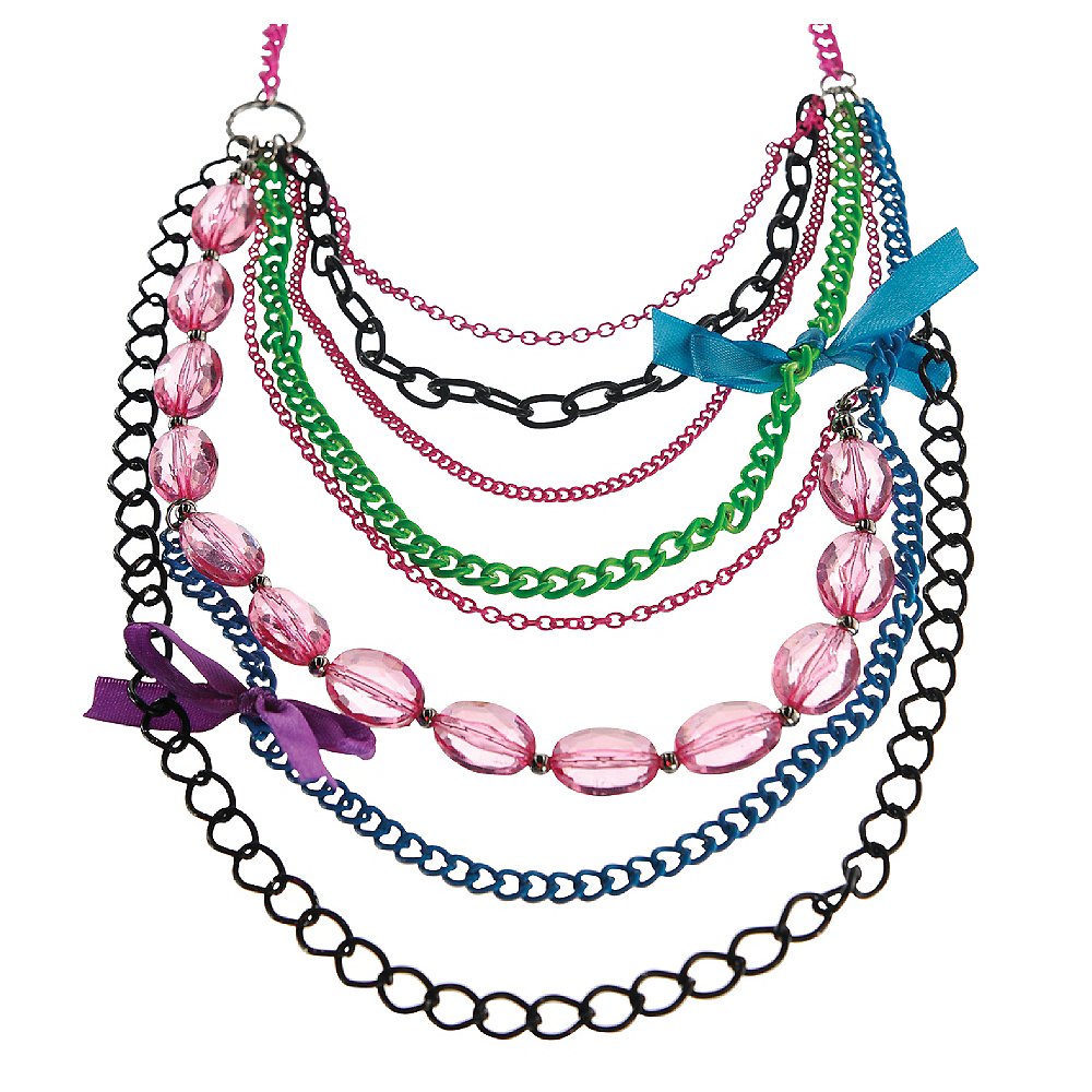 Colorful Chain Necklace Image #1