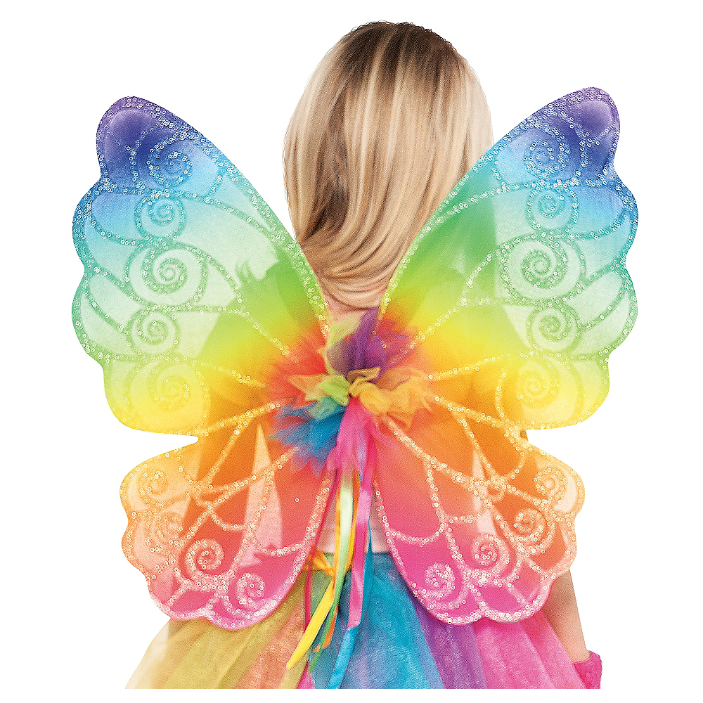 Rainbow Fairy Wings Image #1