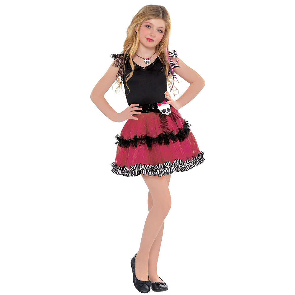Girls Tutu Monster High Dress Image #1