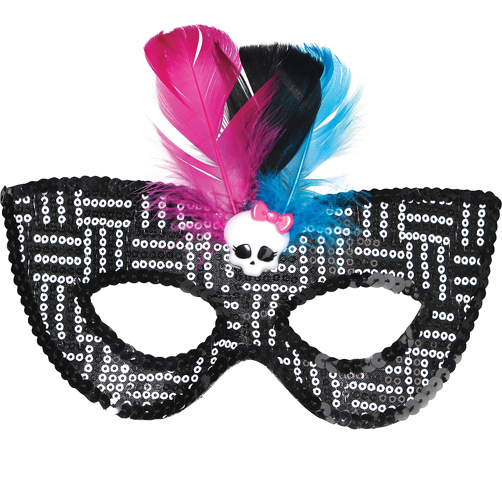 Monster High Skullette Mask Image #1