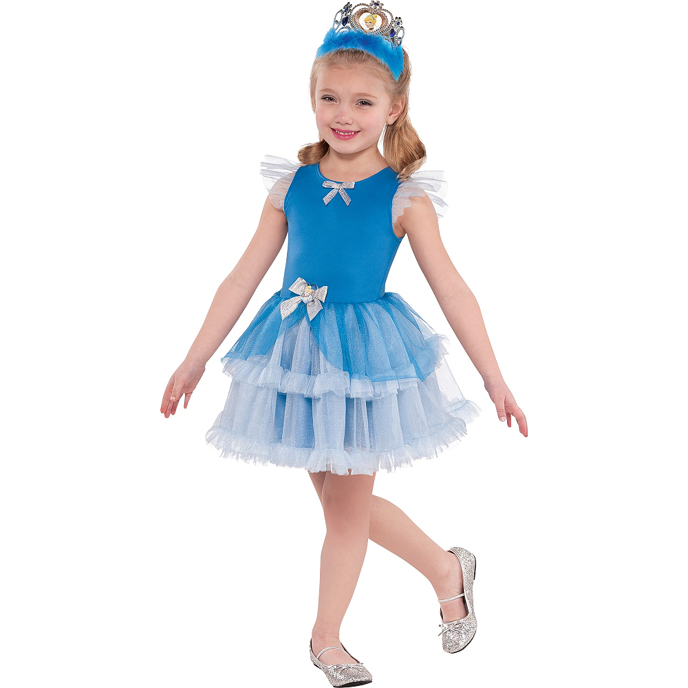 Girls Tutu Cinderella Dress Image #1