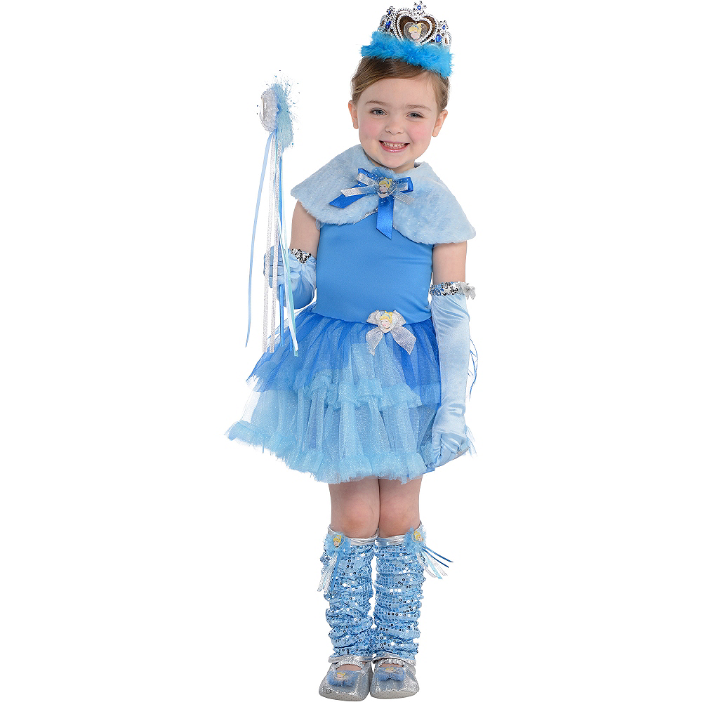 Girls Tutu Cinderella Dress Image #2