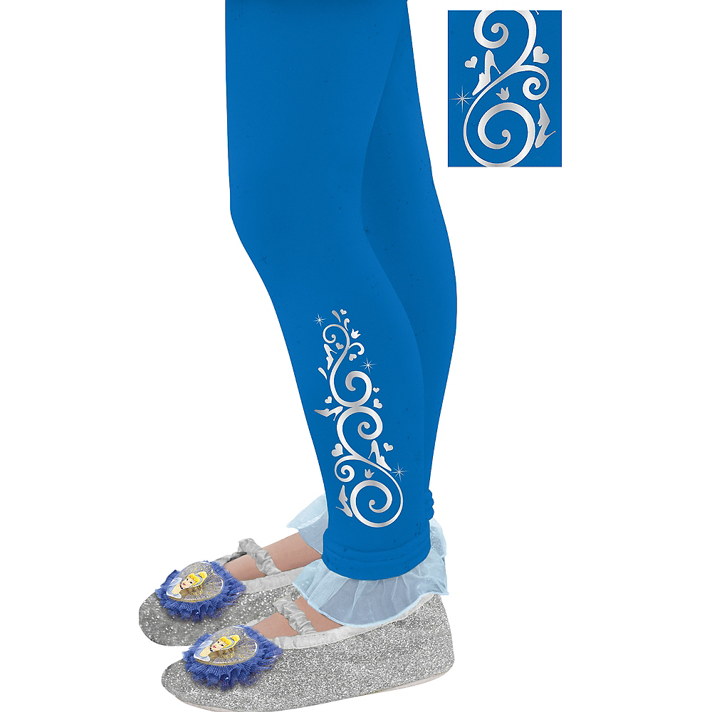 Child Footless Cinderella Tights Image #1
