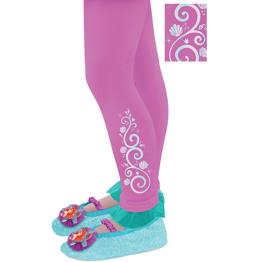 Child Footless Ariel Tights - The Little Mermaid Image #1