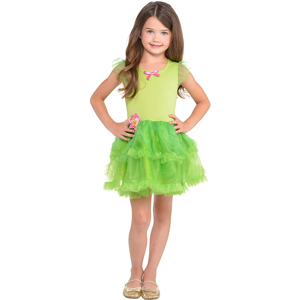 Girls Tinker Bell Tutu Dress Image #1