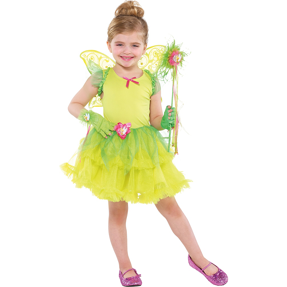 Girls Tinker Bell Tutu Dress Image #2