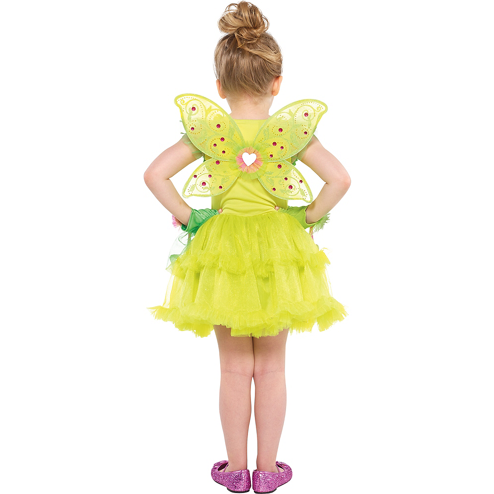 Girls Tinker Bell Tutu Dress Image #3