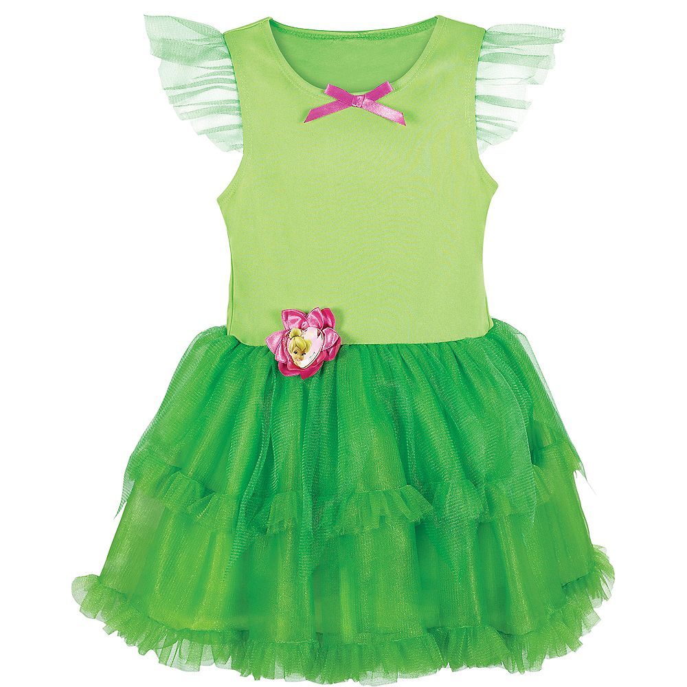 Girls Tinker Bell Tutu Dress Image #4