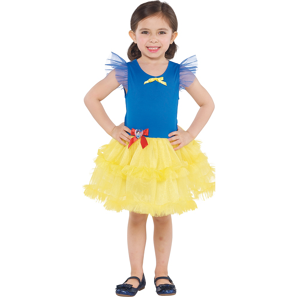 Girls Tutu Snow White Dress Image #1