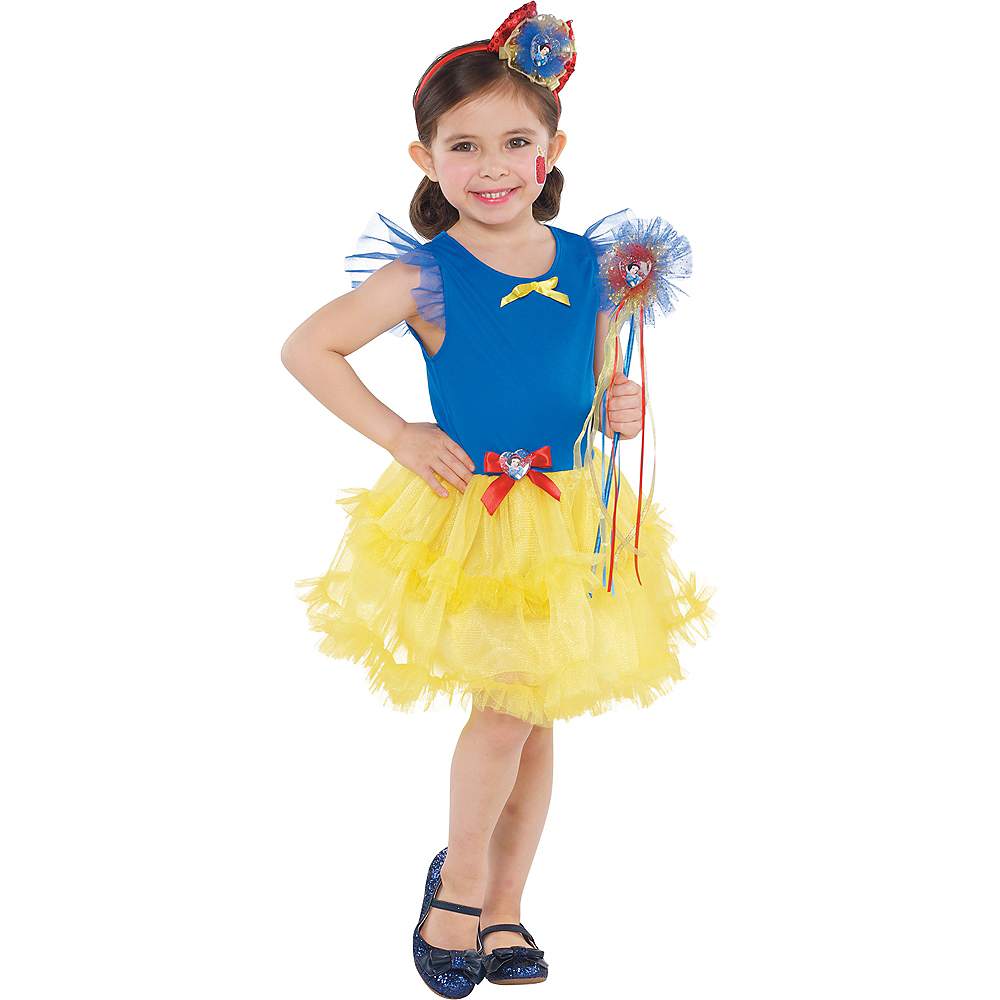 Girls Tutu Snow White Dress Image #2