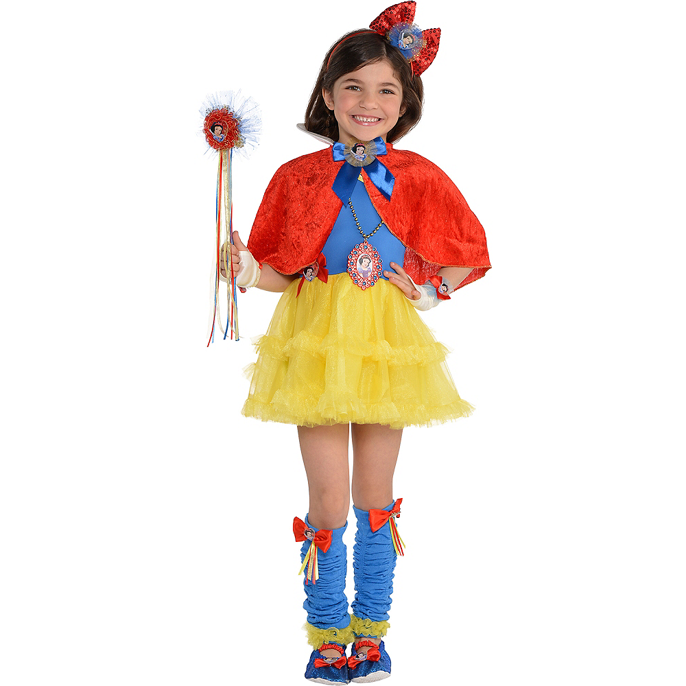 Girls Tutu Snow White Dress Image #3
