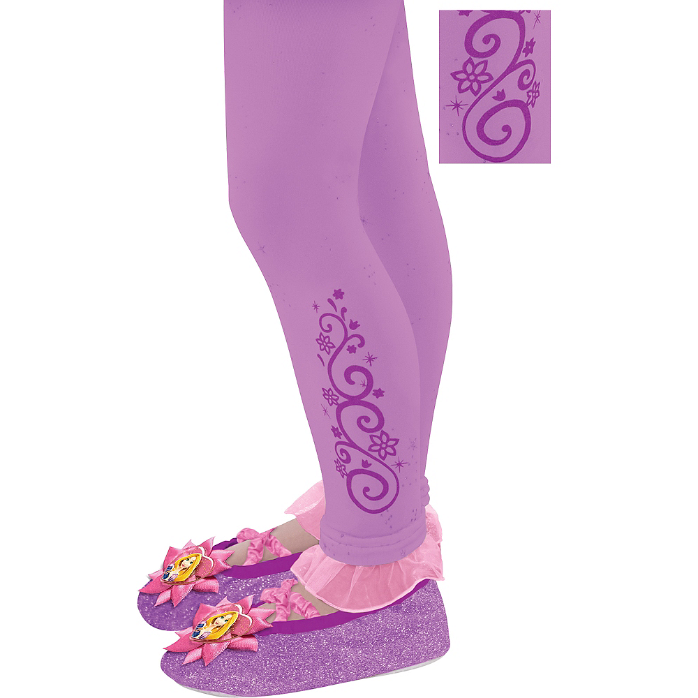 Child Footless Rapunzel Tights Image #1