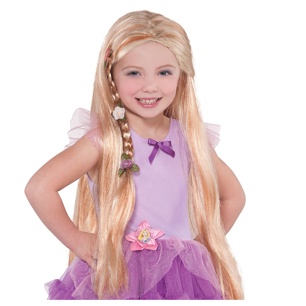 Child Rapunzel Wig Image #1