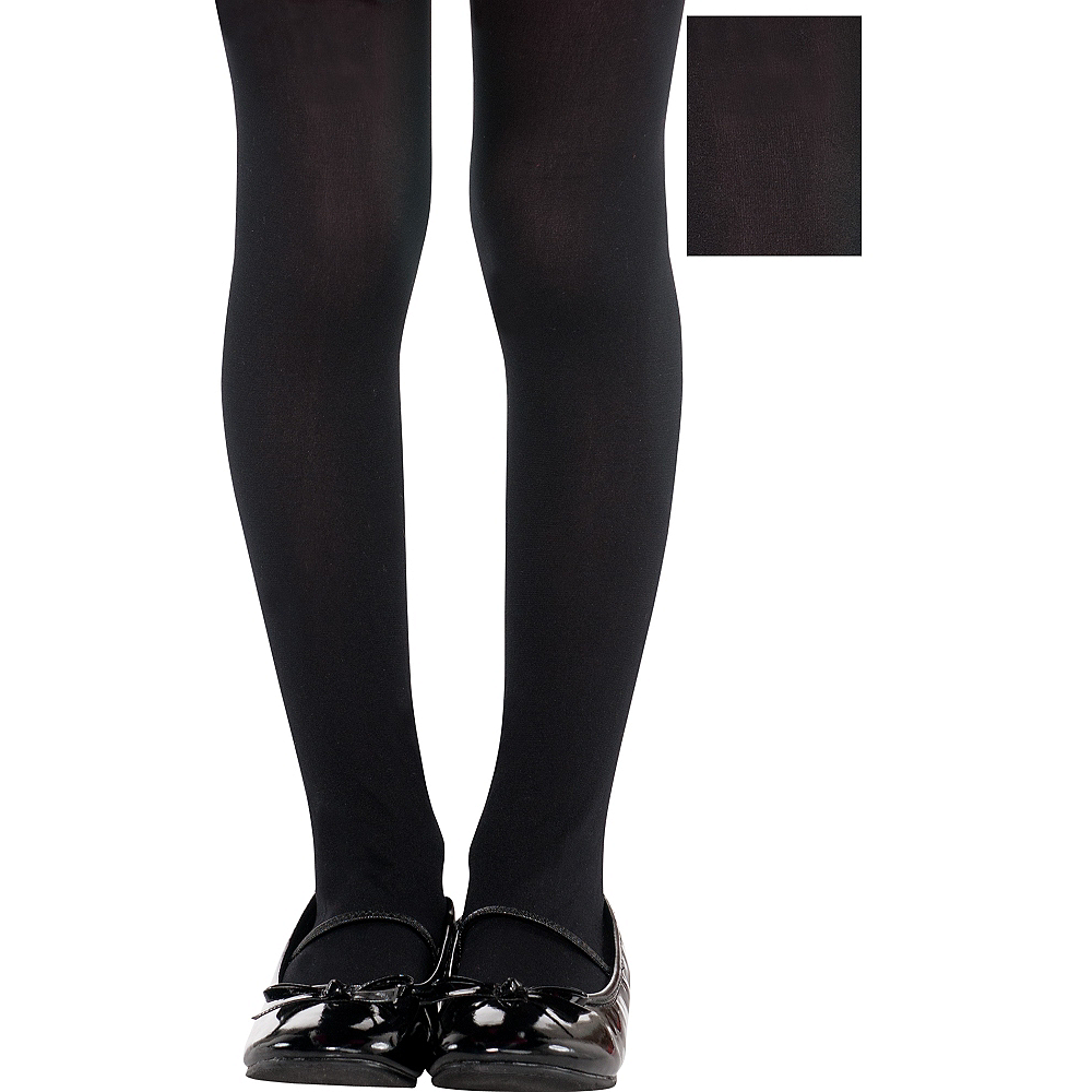 Toddler Black Tights Image #1