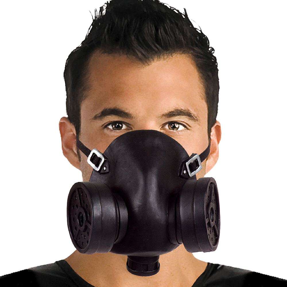Nav Item for Faux Gas Mask Image #2