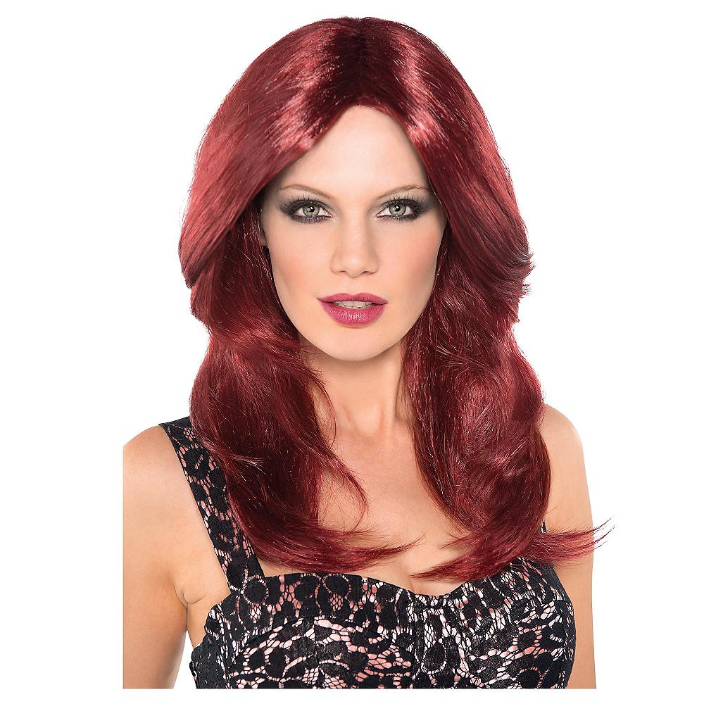 Red Hot Auburn Wig Image #1