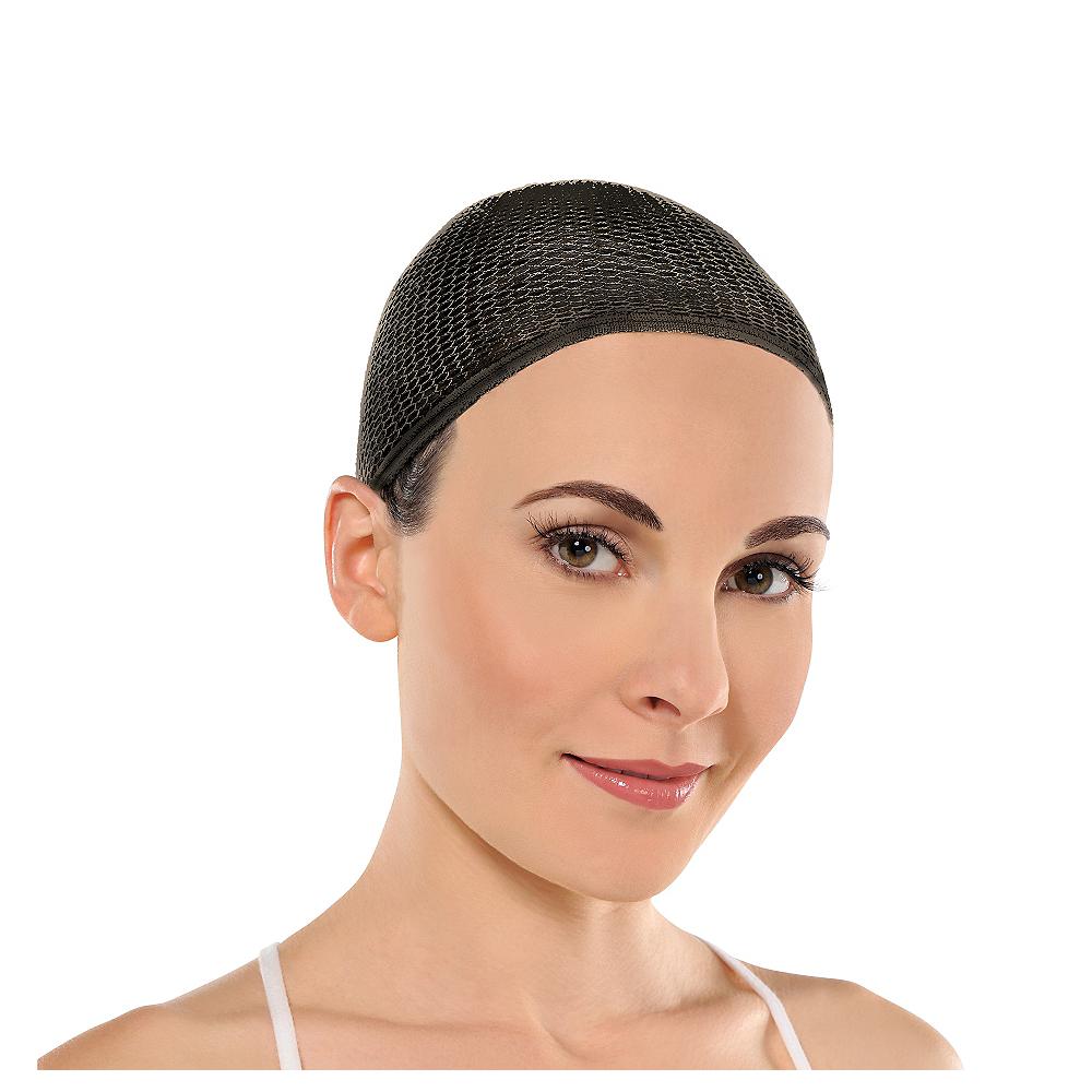 Black Wig Cap Image #1