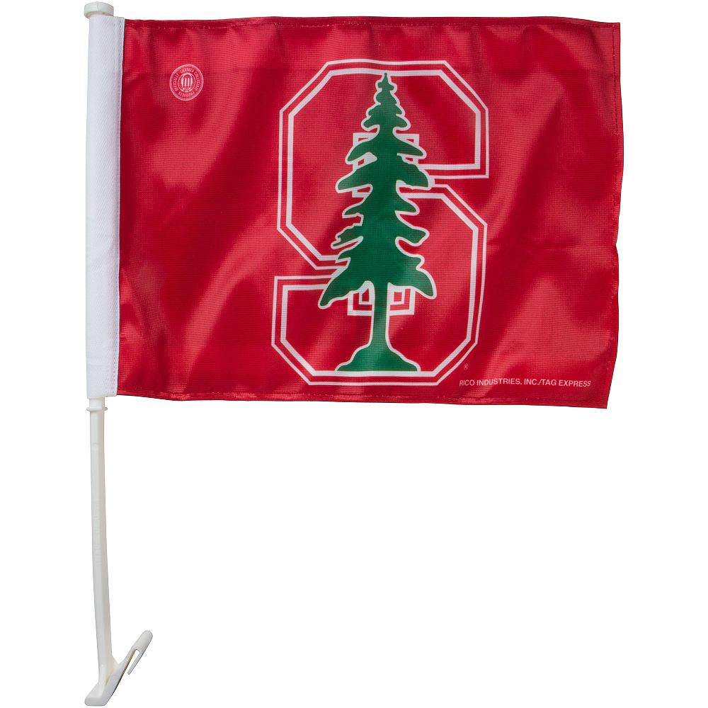 Stanford Cardinal Car Flag Image #1