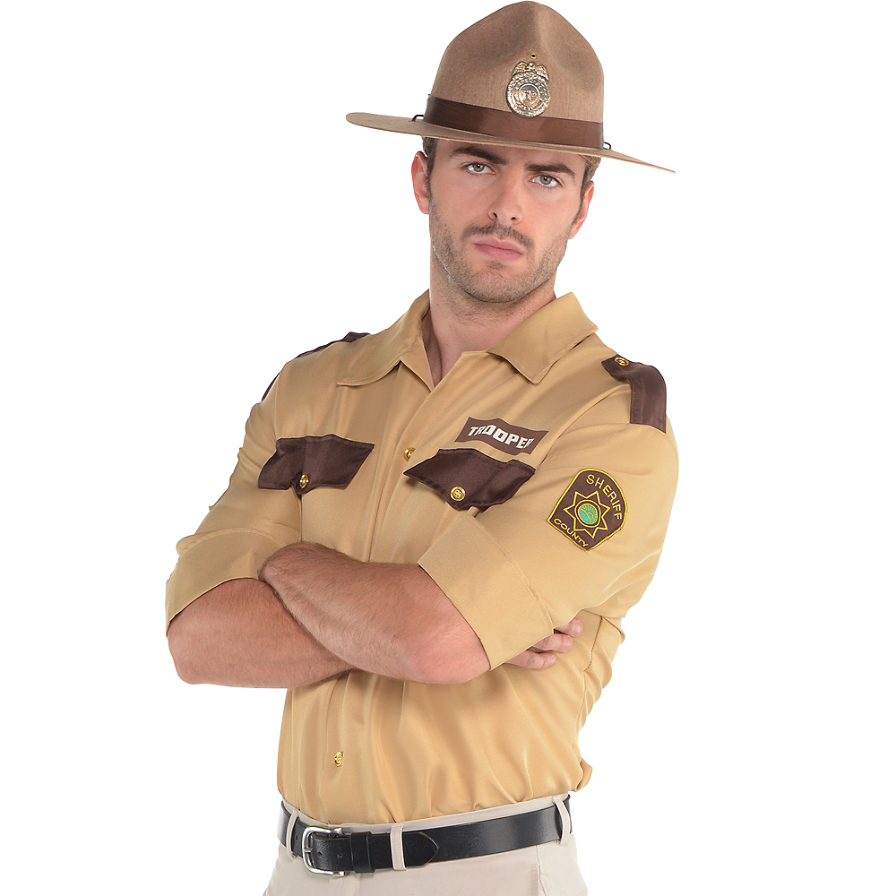 Adult Sheriff Shirt Image #1