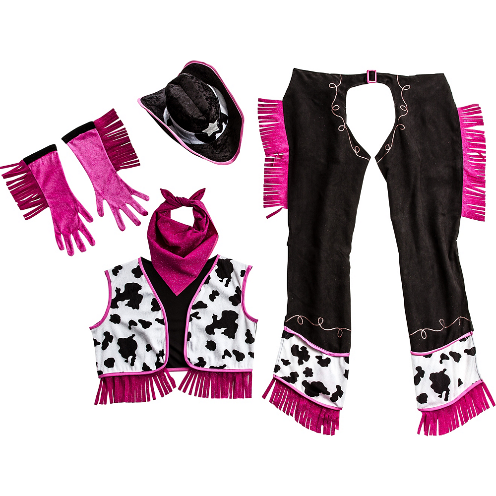 Adult Rodeo Cowgirl Accessory Kit Image #2