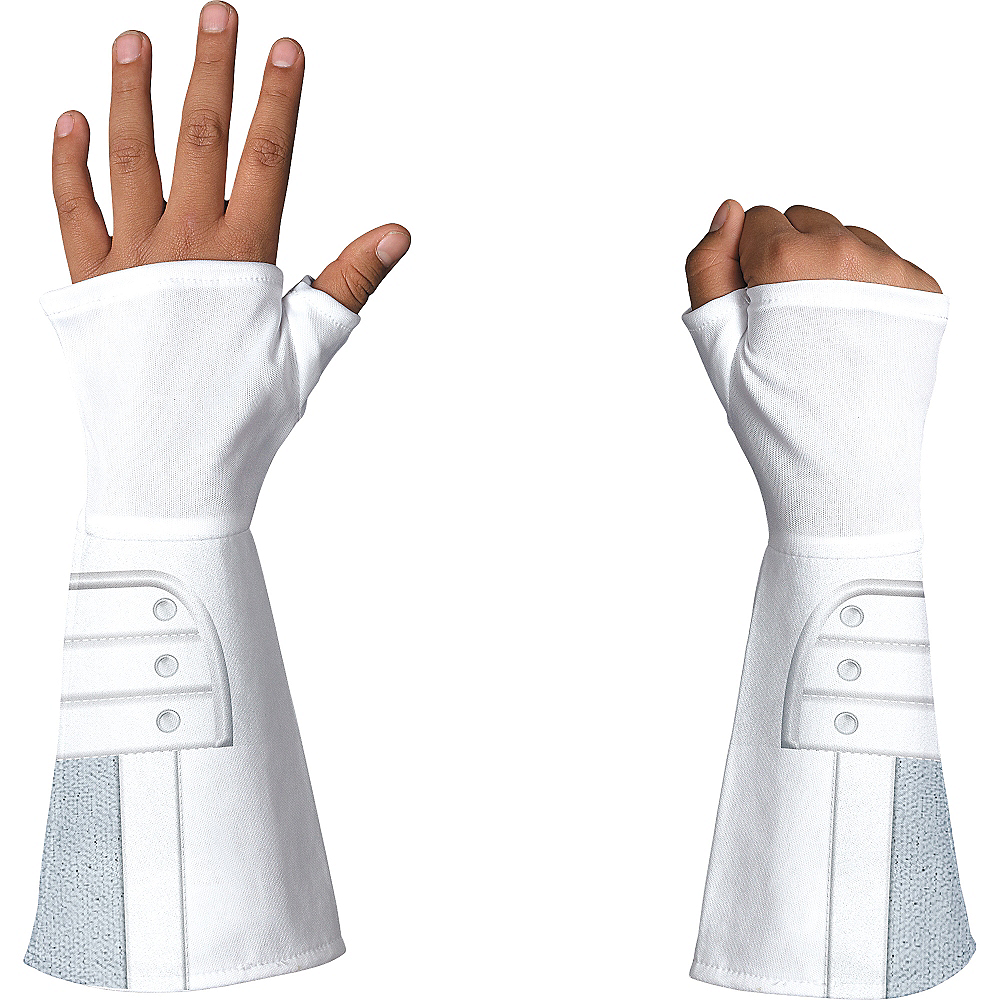 Child Deluxe G.I. Joe Storm Shadow Gloves Image #2