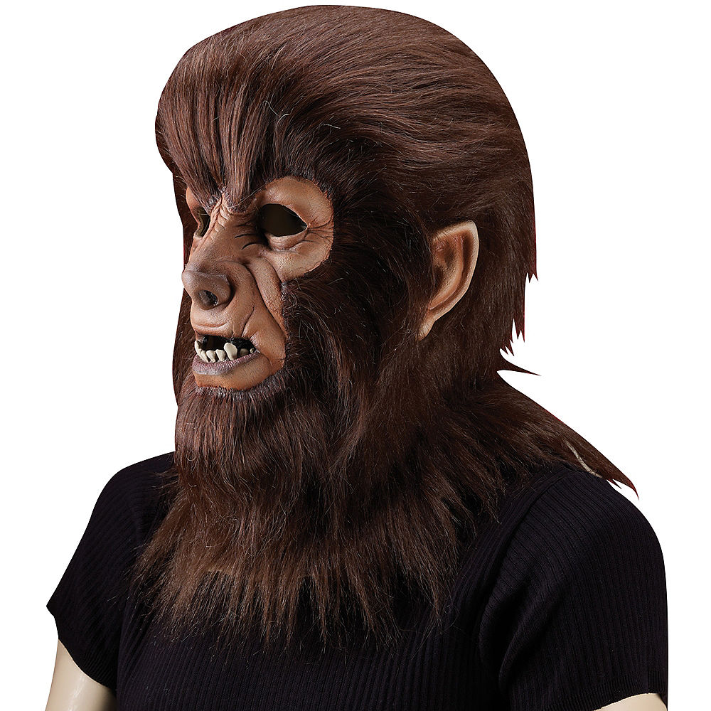 Adult Wolf Man Mask - The Wolf Man Image #2