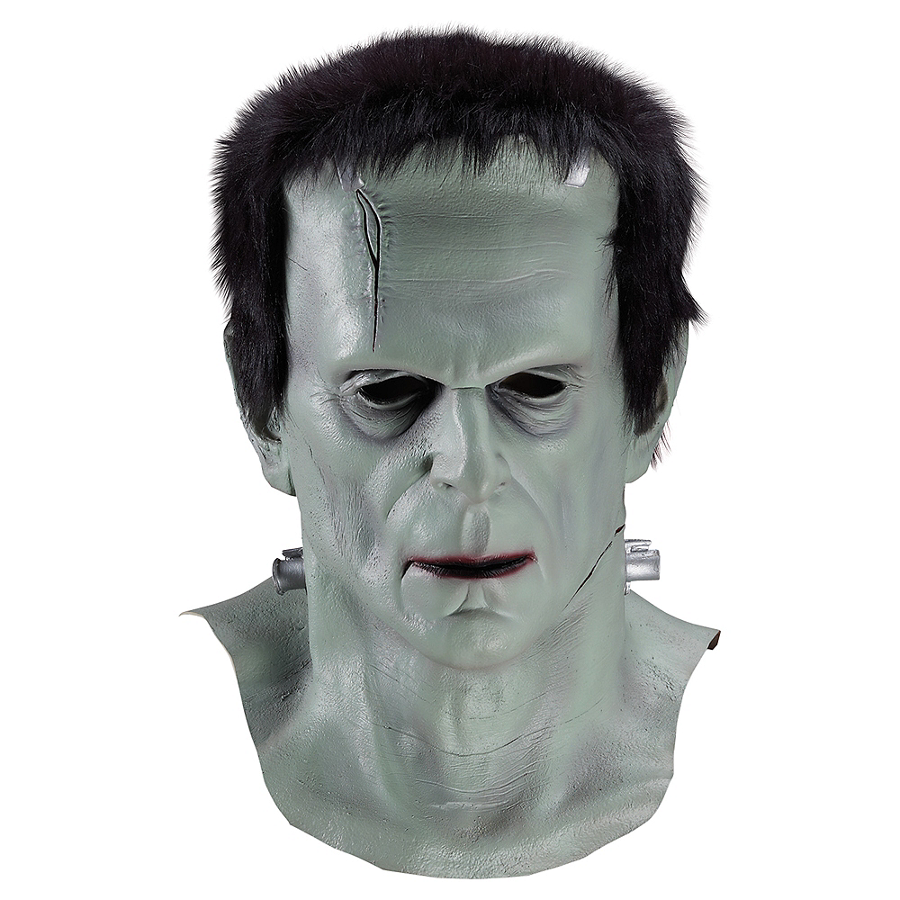 Adult Frankenstein Mask Image #1