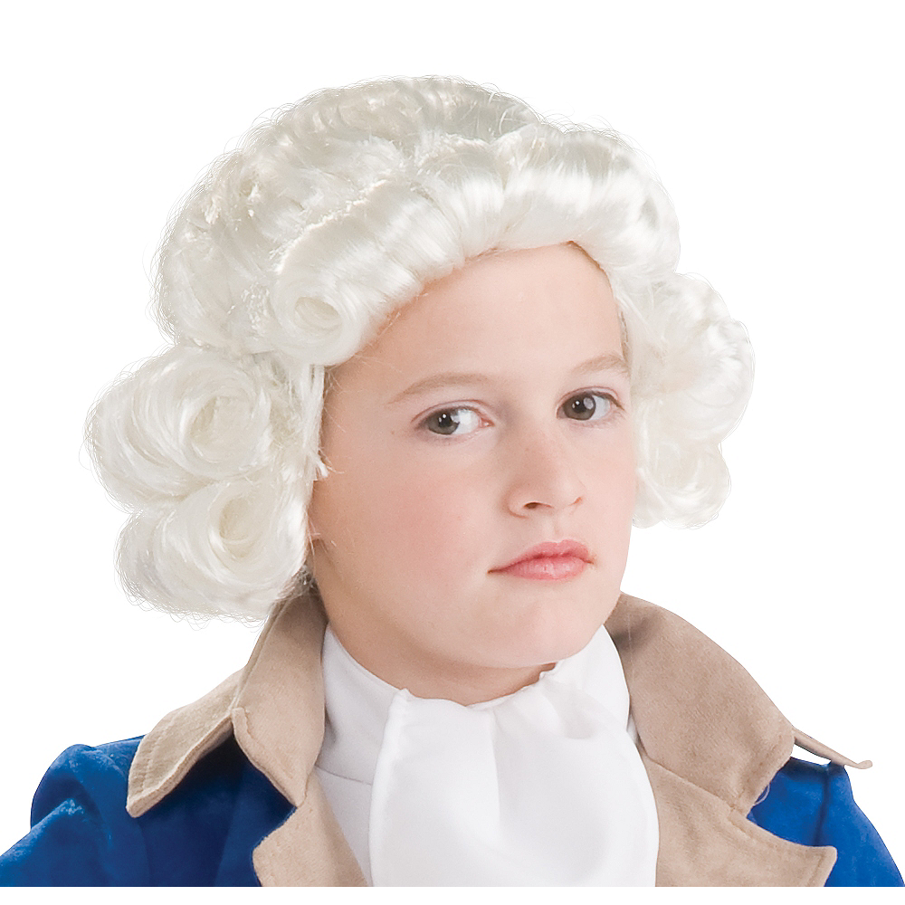 Child Colonial Wig Image #1