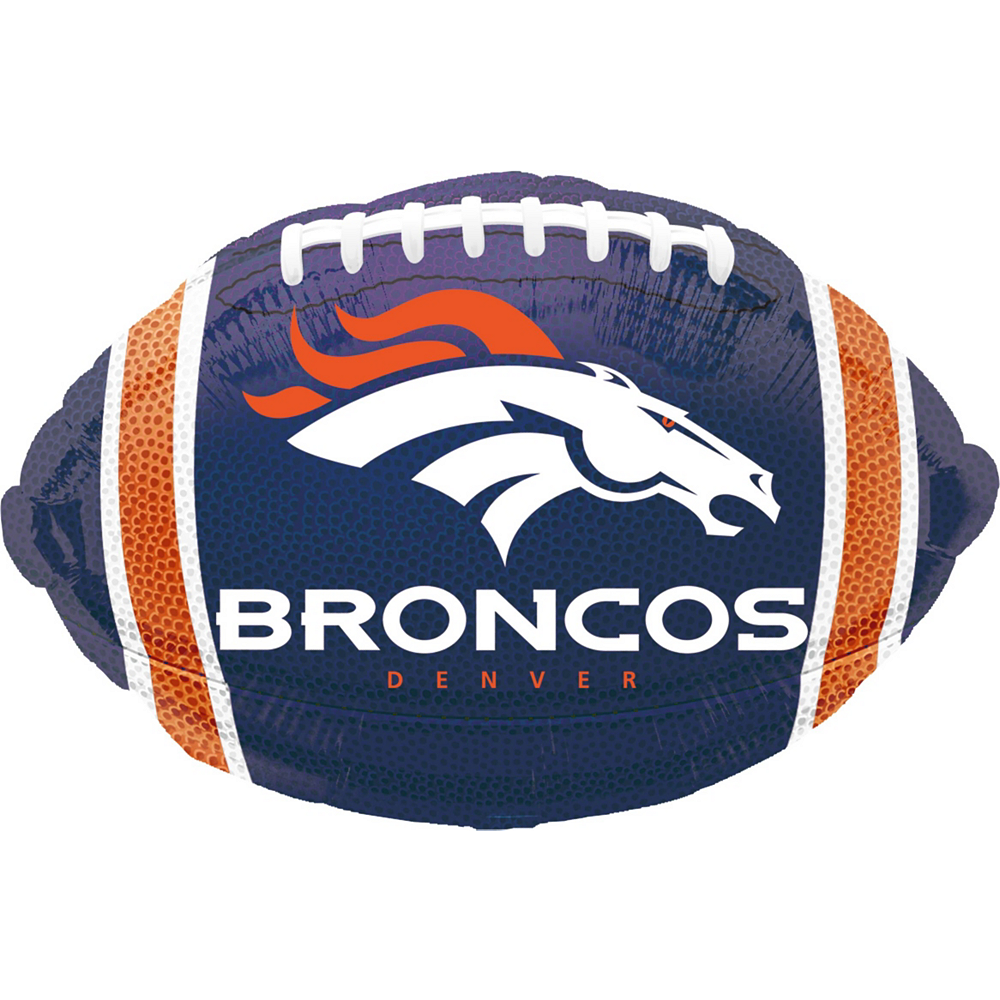 Super Denver Broncos Party Kit for 18 Guests Image #7