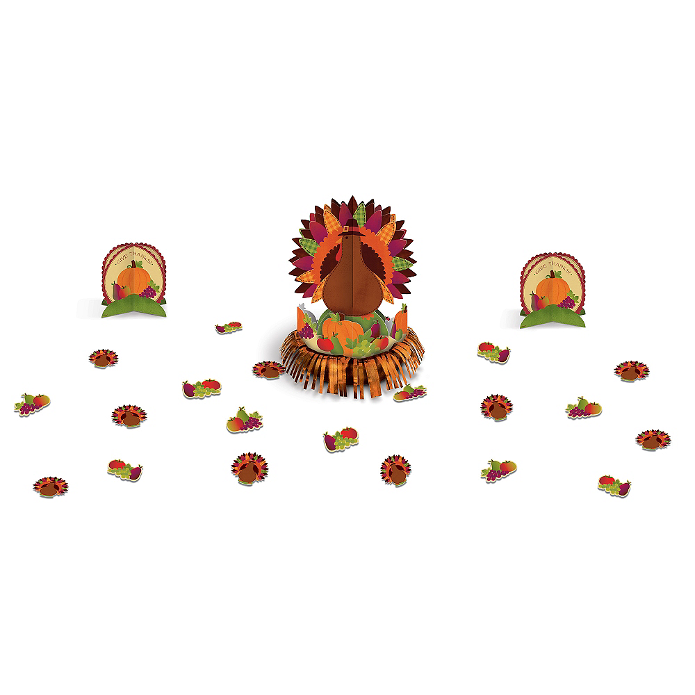 Thanksgiving Table Decorating Kit 23pc Image #1