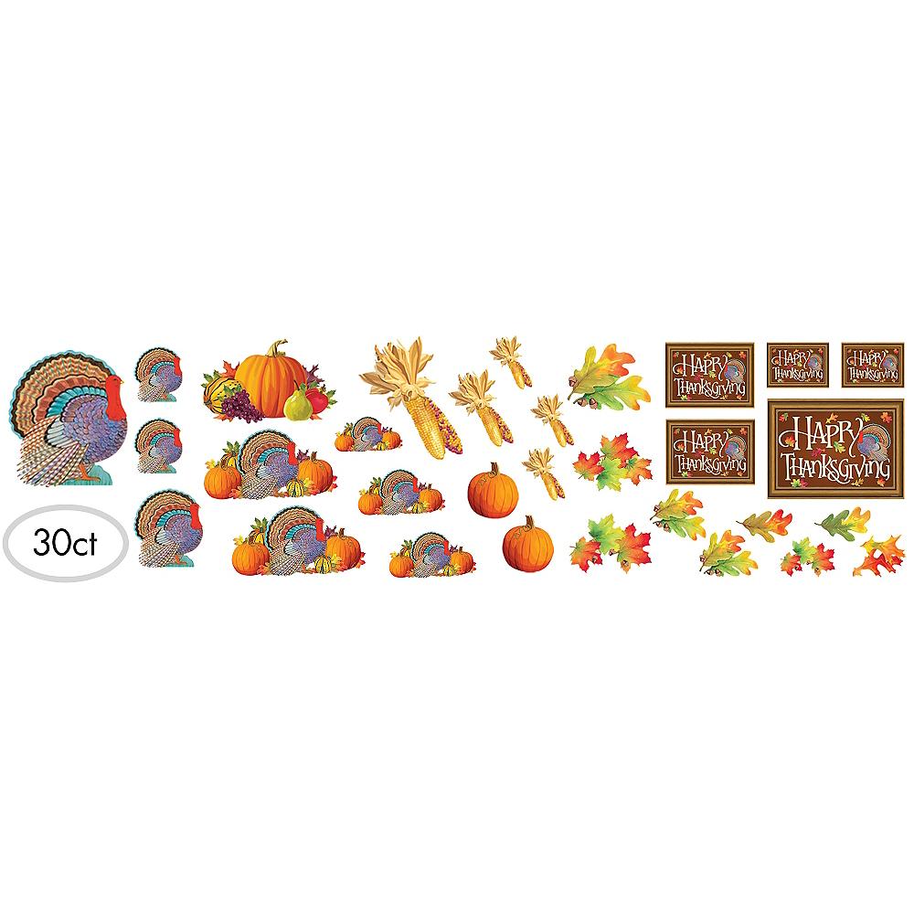 Happy Thanksgiving Cutouts 30ct Image #1