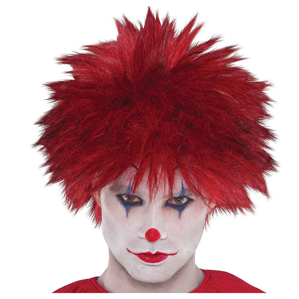 Nav Item for Evil Clown Wig Image #1