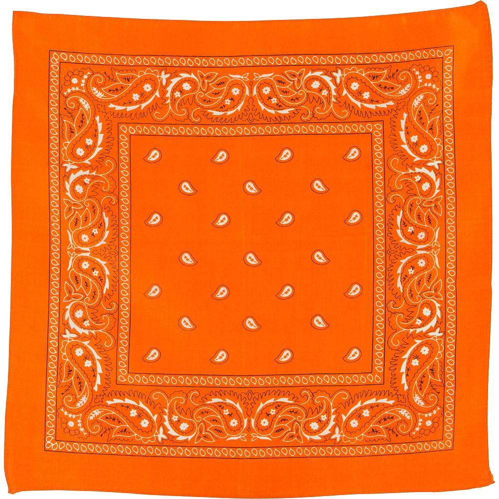 Orange Bandana Image #2