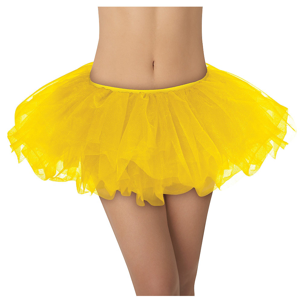 Yellow Tutu 11in Party City