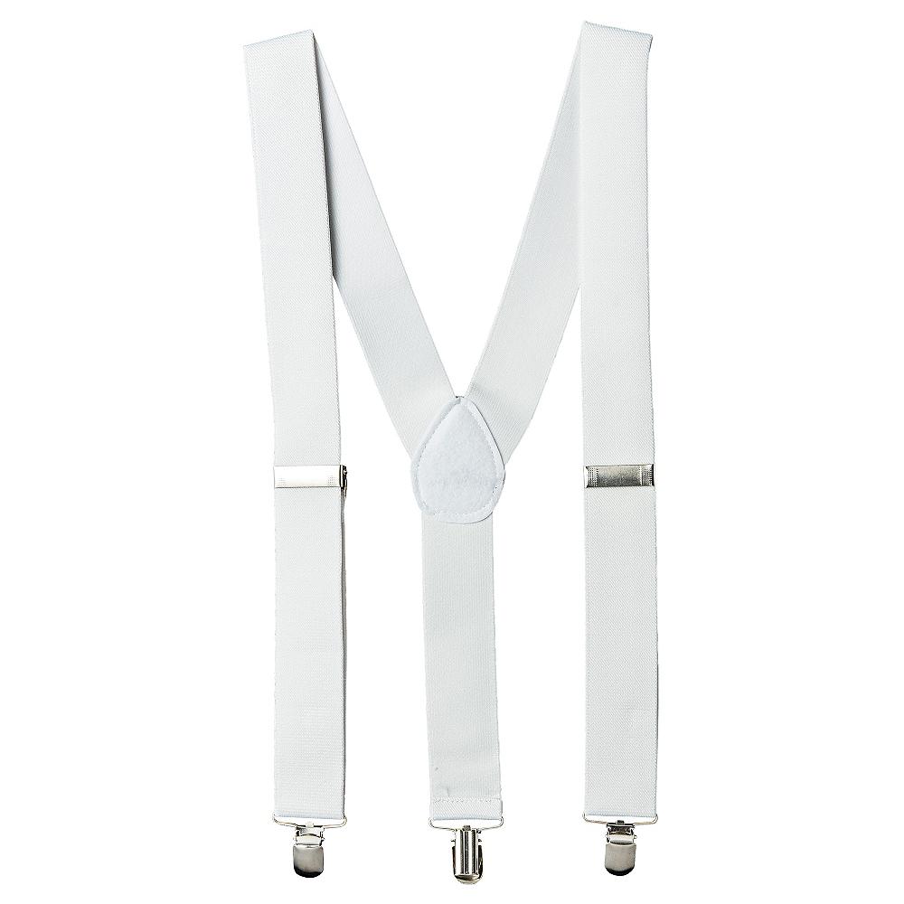 White Suspenders Image #1
