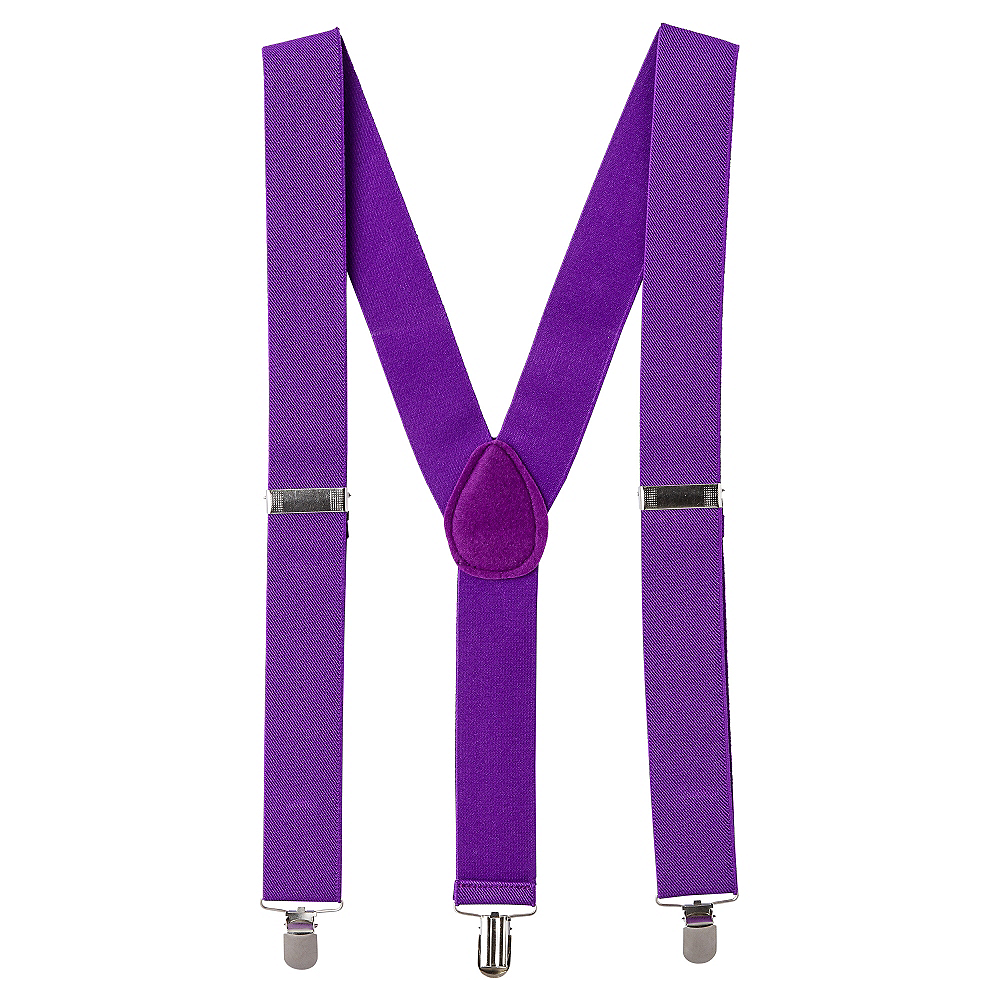 Purple Suspenders Image #1