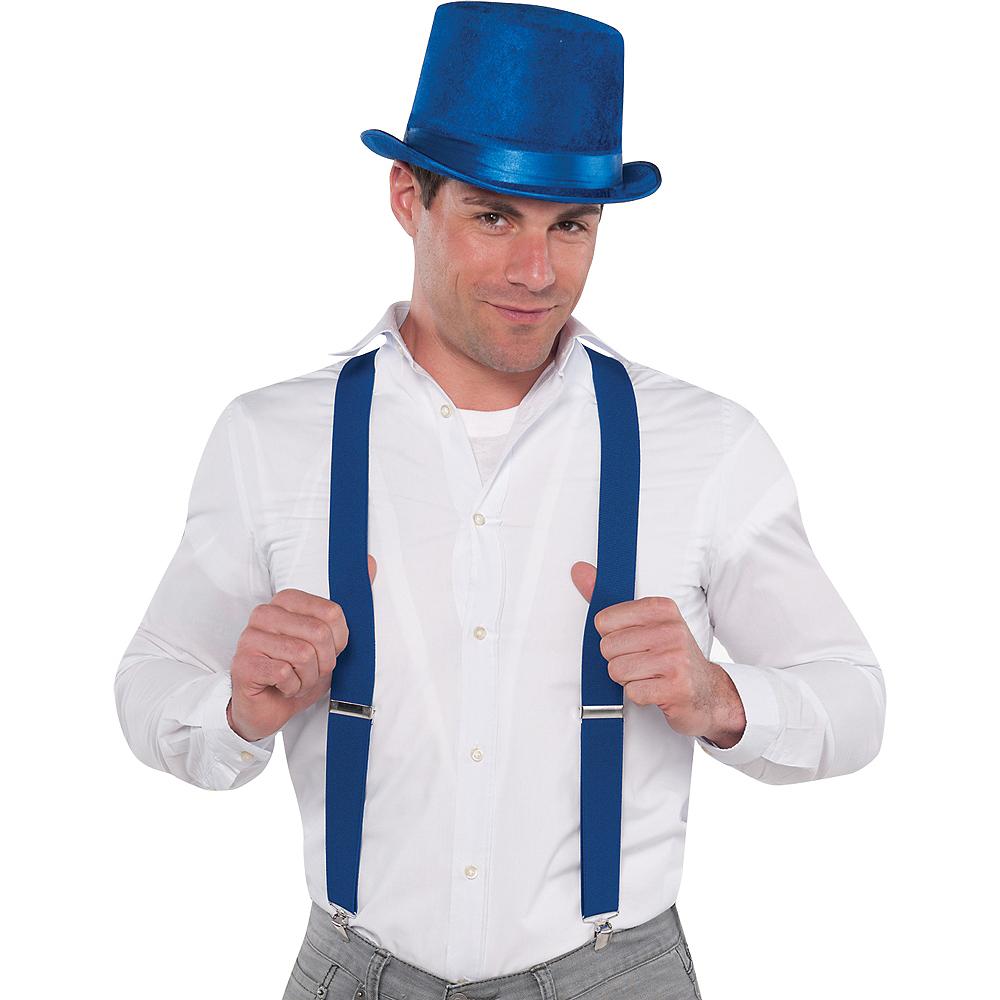 Blue Suspenders Image #2