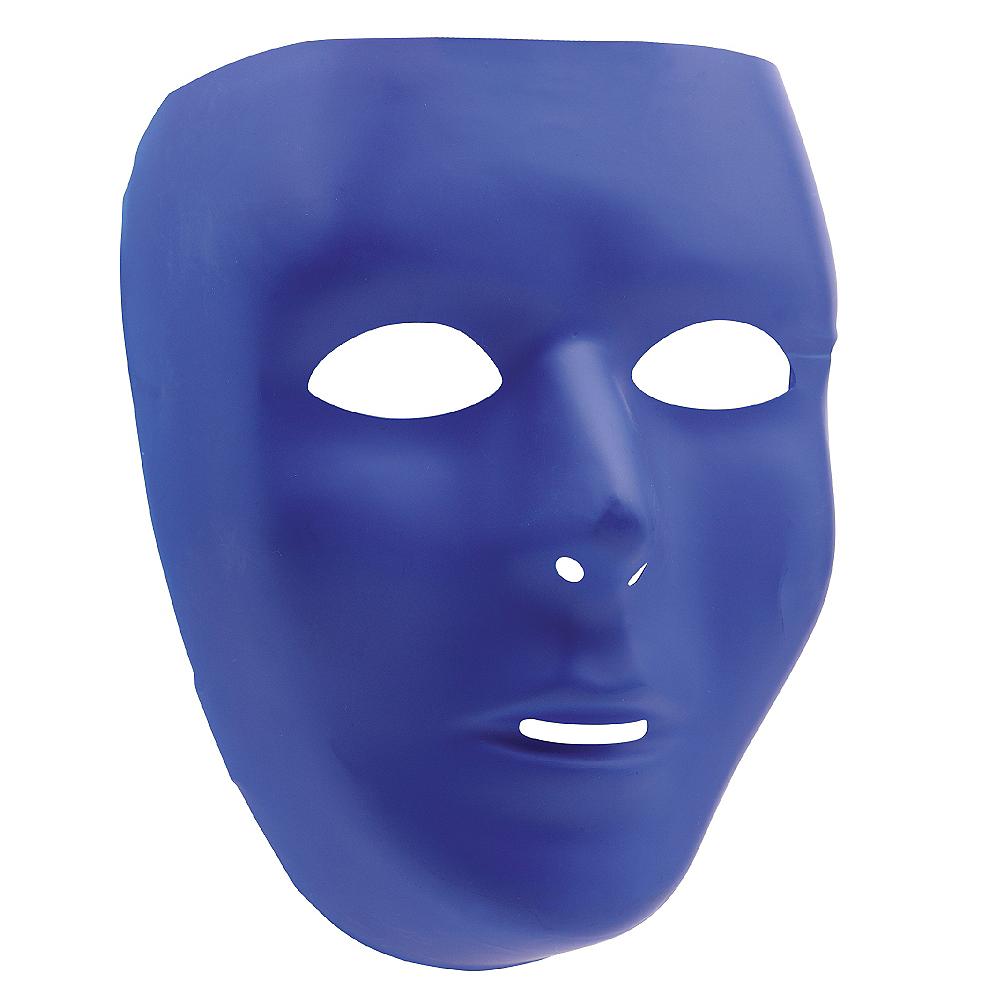 Blue Face Mask Image #1