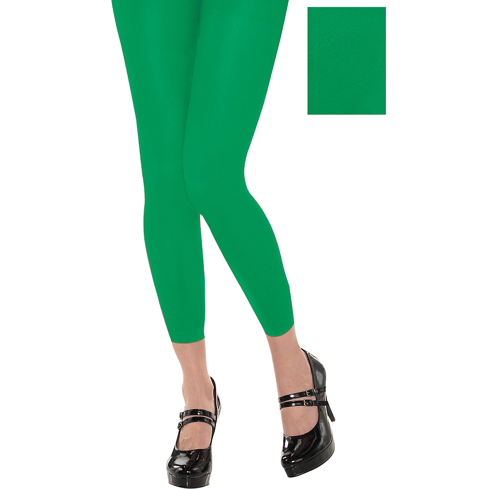 Nav Item for Footless Green Tights Image #1