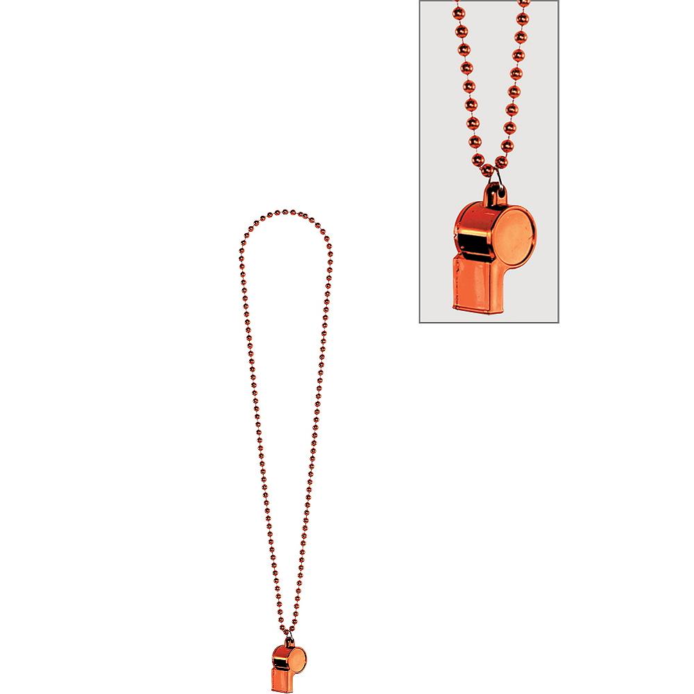 Orange Whistle Necklace Image #1